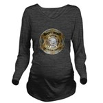 Big Horn County Sheriff Long Sleeve Maternity T-Sh