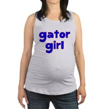 Gator Girl Maternity Tank Top