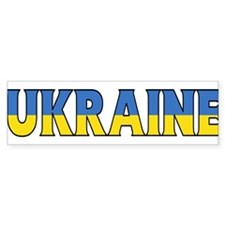 Ukraine Bumper Bumper Sticker