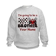 Big Brother To Be Race Car Sweatshirt