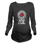 I Heart Zoe - LOST Long Sleeve Maternity T-Shirt