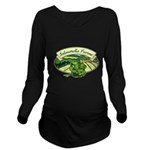 Salmonella Farms - Cilantro Long Sleeve Maternity T-Shirt