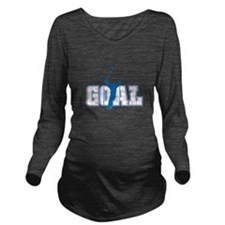 1goal copy.png Long Sleeve Maternity T-Shirt