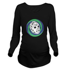 goalie mask circle copy.png Long Sleeve Maternity