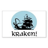 Kraken! Rectangle Stickers