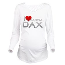 I Heart Jadzai Dax Long Sleeve Maternity T-Shirt
