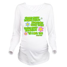 Clowns Never Laughed Before Long Sleeve Maternity