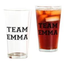 Team Emma Drinking Glass