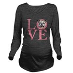 love.png Long Sleeve Maternity T-Shirt