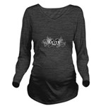 crest.png Long Sleeve Maternity T-Shirt