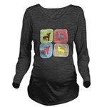 colorblock3.png Long Sleeve Maternity T-Shirt