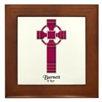 Cross - Burnett of Leys Framed Tile