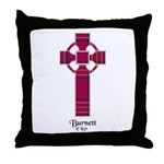 Cross - Burnett of Leys Throw Pillow