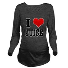 JUICE.png Long Sleeve Maternity T-Shirt