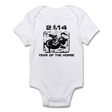 Year of The Zodiac Horse 2014 Infant Bodysuit