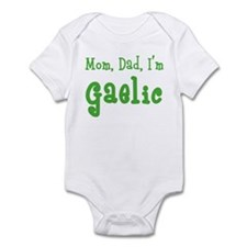 Mom, Dad, I'm Gaelic Infant Bodysuit