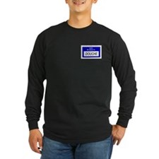 Douche Nametag Long Sleeve T-Shirt