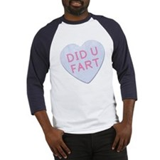 Did U Fart Anti Valentine Baseball Jersey