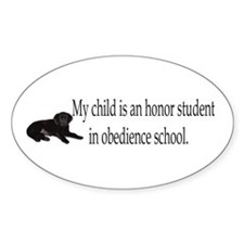 school Oval Decal