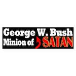George W. Bush: Minion of Satan (sticker