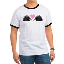 Cute Hedgehogs in Love T-Shirt