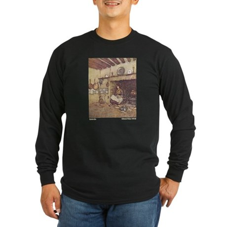Dulac's Cinderella Long Sleeve Dark T-Shirt