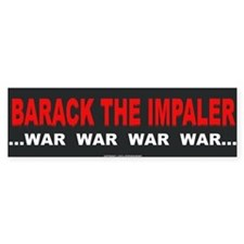 Barack the Impaler Bumper Sticker