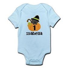 Personalized Halloween 1st Birthday Body Suit