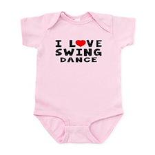 I Love Swing Onesie