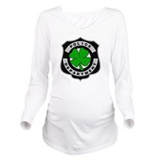 Irish Police Officers Long Sleeve Maternity T-Shir