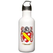Perazzi Coat of Arms (Family Crest) Water Bottle
