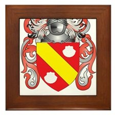 Peroni Coat of Arms (Family Crest) Framed Tile