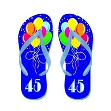 STYLISH 45TH Flip Flops