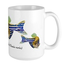 Zebrafish Art Mugs