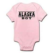 Alaska Boy Designs Infant Bodysuit