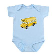 Cartoon School Bus Body Suit