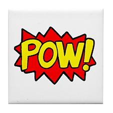 POW! Tile Coaster