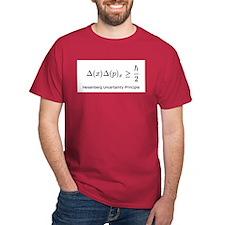 Heisenberg Uncertainty Princi T-Shirt