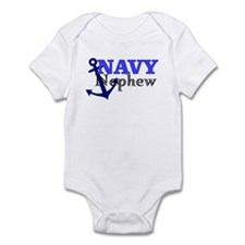 NAVY Nephew Infant Bodysuit