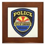 Surprise Police Framed Tile