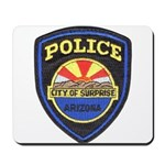 Surprise Police Mousepad
