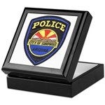 Surprise Police Keepsake Box