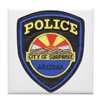 Surprise Police Tile Coaster