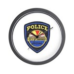 Surprise Police Wall Clock