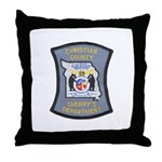 Christian County Sheriff Throw Pillow