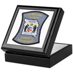 Christian County Sheriff Keepsake Box