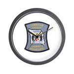 Christian County Sheriff Wall Clock