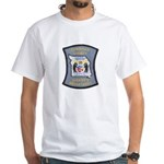 Christian County Sheriff White T-Shirt