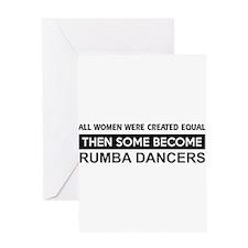 rumba created equal designs Greeting Card