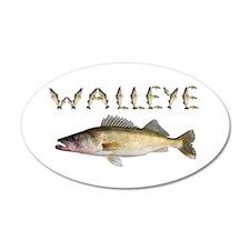 Perfect Walleye 2 Wall Decal